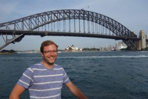 Iconic Sydney Harbour Bridge and Opera House