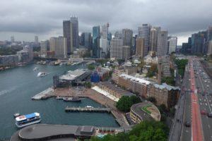 CBD view from Harbour Bridge