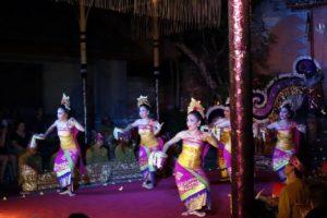 Dance show at Ubud Palace