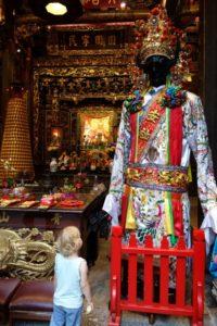 Exploring Qingshan Temple in Taipei