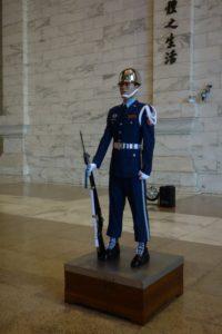 Guard at National Chiang Kai-shek Memorial Hall