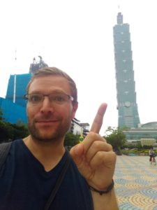 I'm going up there! Taipei 101
