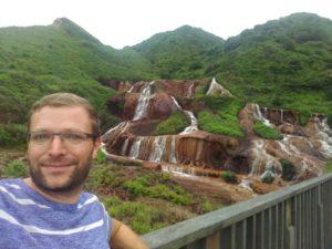 Golden Waterfall near Jiufen