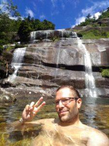 Remote Janokuchi-no-taki waterfall