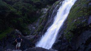 Oko-no-taki, Yakushima's highest waterfall