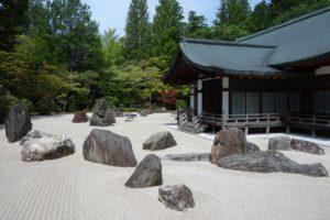 Banryutei Rock Garden at Kongōbuji in Koyasan
