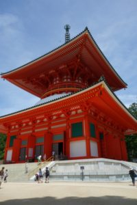 Konpon Daito Pagoda in Koyasan