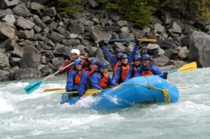 River Rafting Action